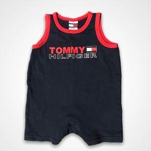 4/$20🥳 Navy Blue Tommy Hilfiger Romper